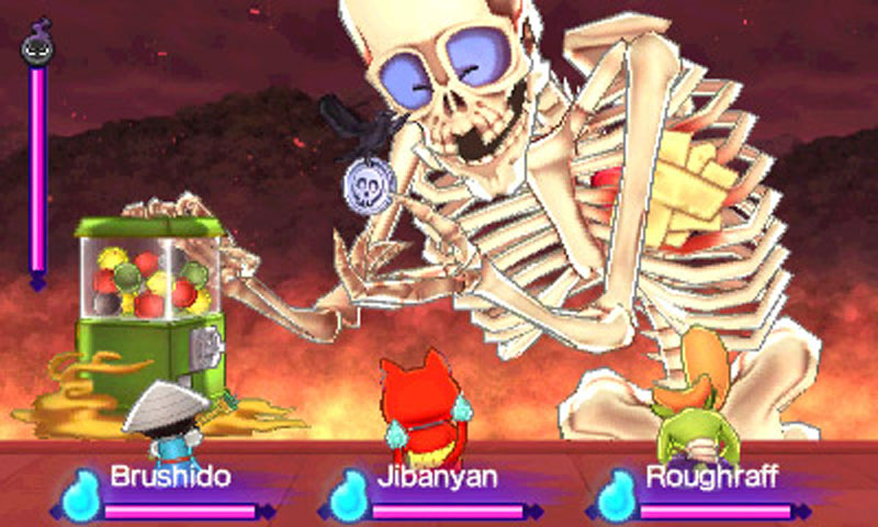Yo-kai Watch 2: Fleshy Souls - Screenshot 16