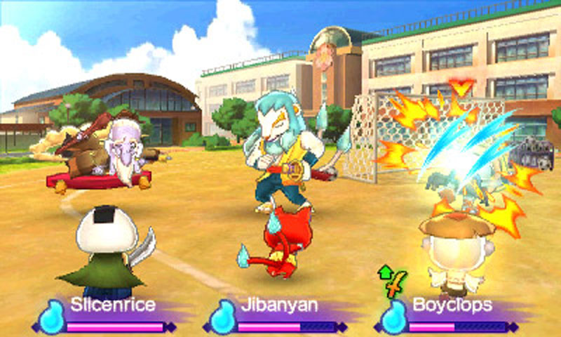 Yo-kai Watch 2: Bony Spirits - Screenshot 3