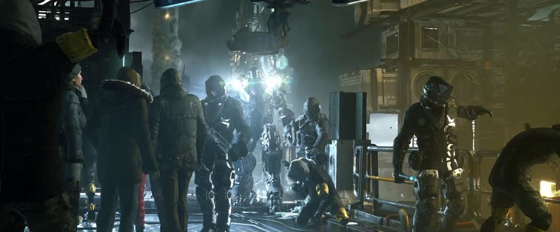 Deus Ex: Mankind Divided - Screenshot 1