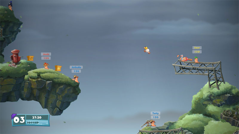 Worms W.M.D - Screenshot 9