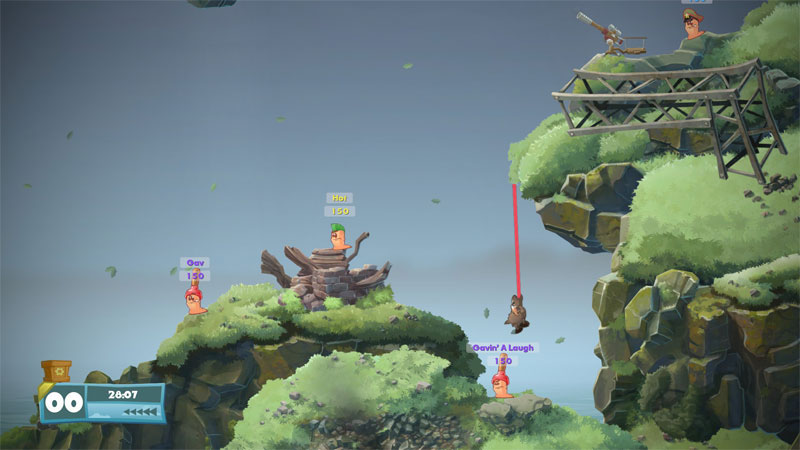 Worms W.M.D - Screenshot 7