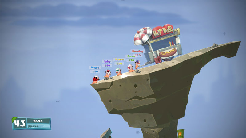 Worms W.M.D - Screenshot 2