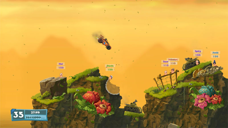 Worms W.M.D - Screenshot 3