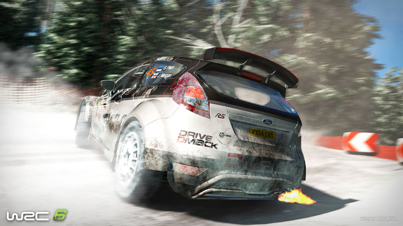 WRC 6 - Screenshot 3