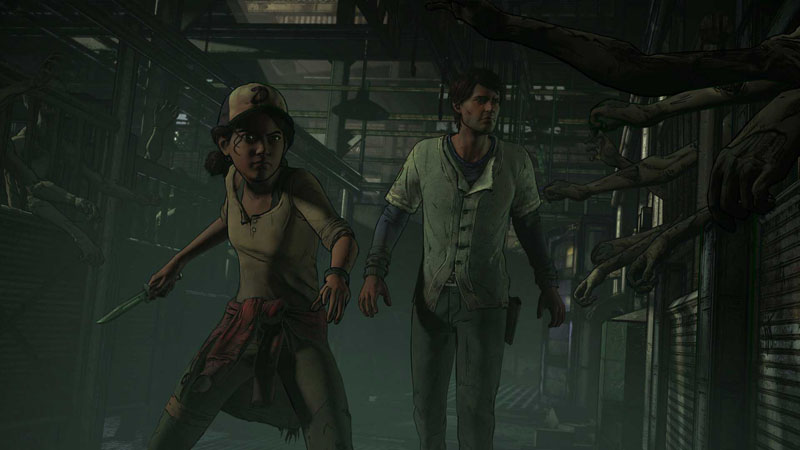 The Walking Dead - The Telltale Series: A New Frontier - Screenshot 2