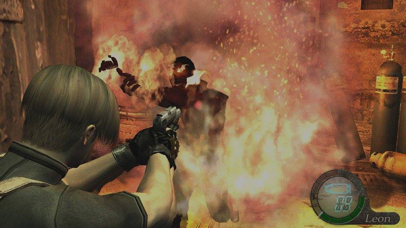 Resident Evil 4 - Screenshot 1