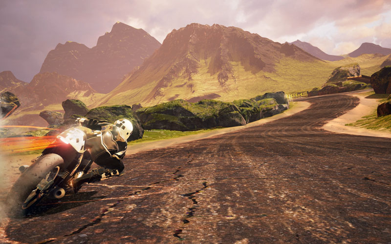 Moto Racer 4 - Screenshot 2