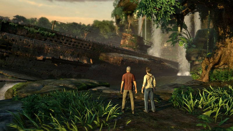 Uncharted: Drake's Fortune Remastered - Screenshot 2