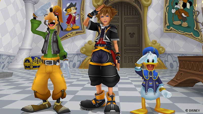 Kingdom Hearts 1.5 + 2.5 Remix - Screenshot 1