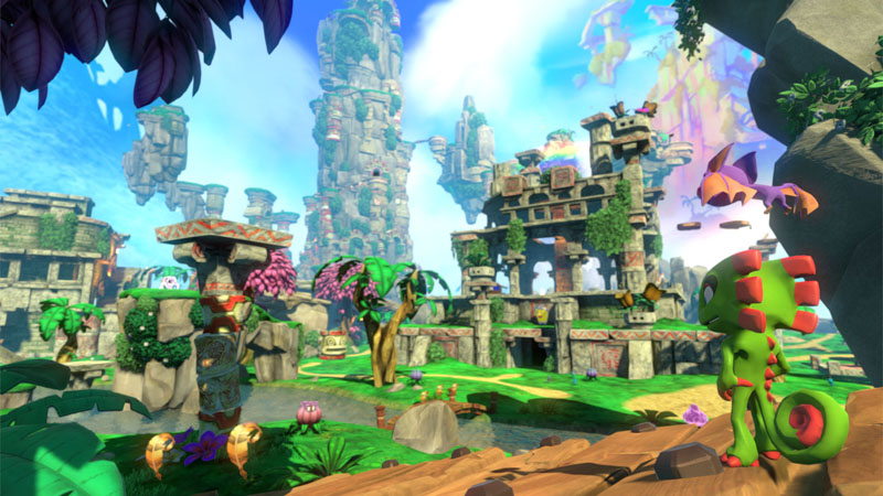 Yooka-Laylee - Screenshot 1