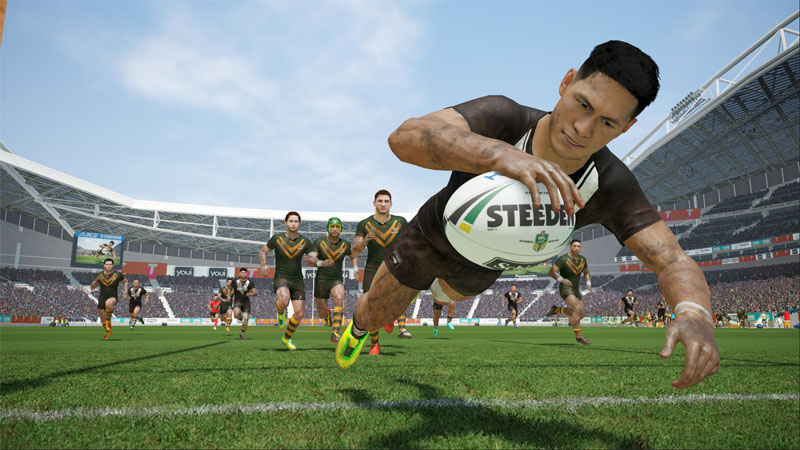 Rugby League Live 4 - Screenshot 1