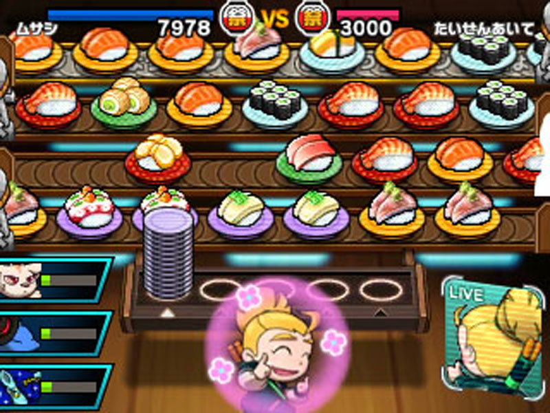 Sushi Striker: The Way of Sushido - Screenshot 5