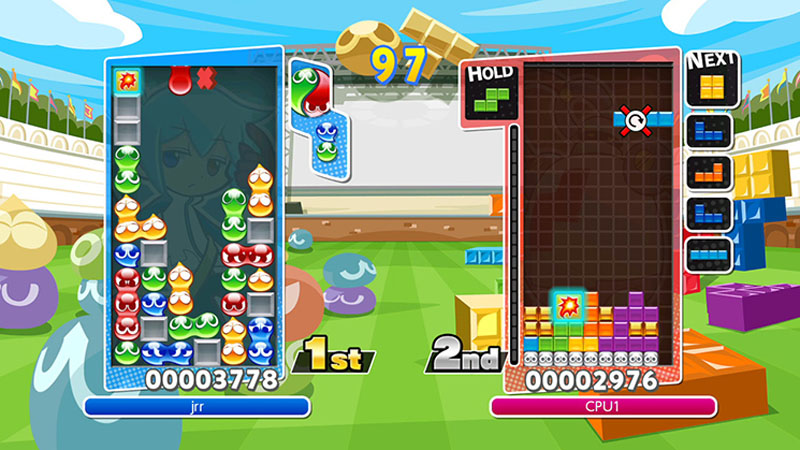 Puyo Puyo Tetris - Screenshot 1