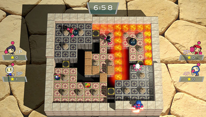 Super Bomberman R Shiny Edition - Screenshot 4
