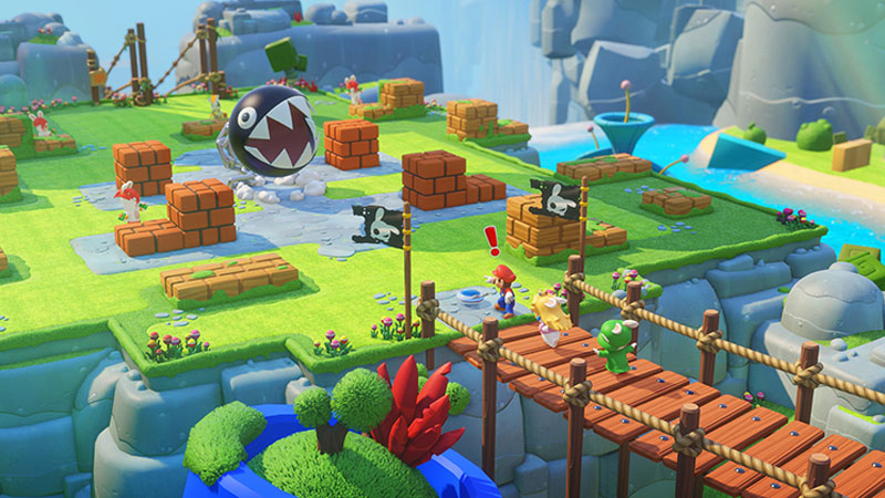 Mario + Rabbids Kingdom Battle - Screenshot 1