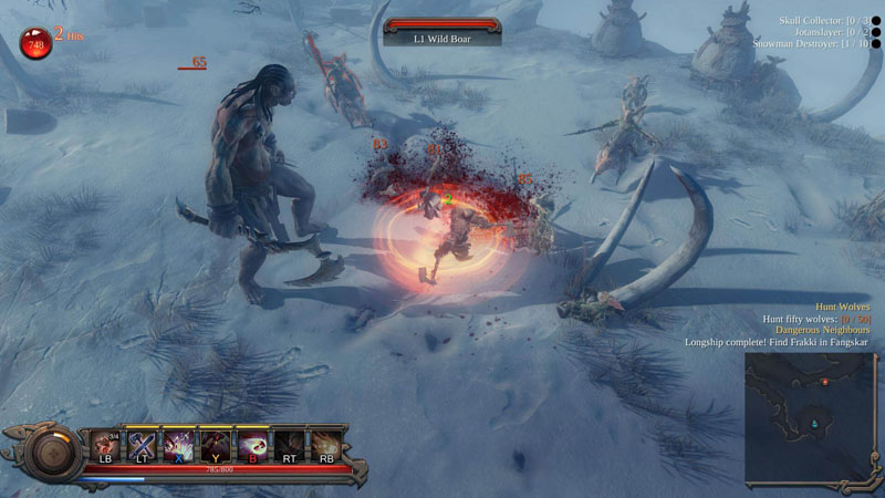 Vikings: Wolves of Midgard - Screenshot 4