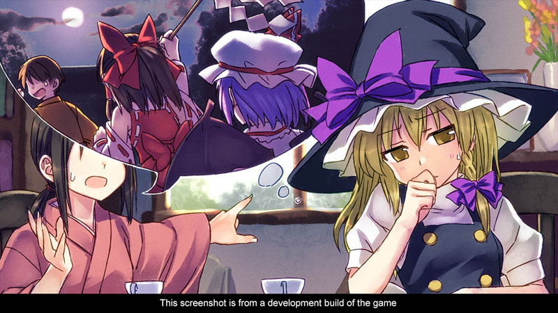 Touhou Kobuto V: Burst Battle - Screenshot 4
