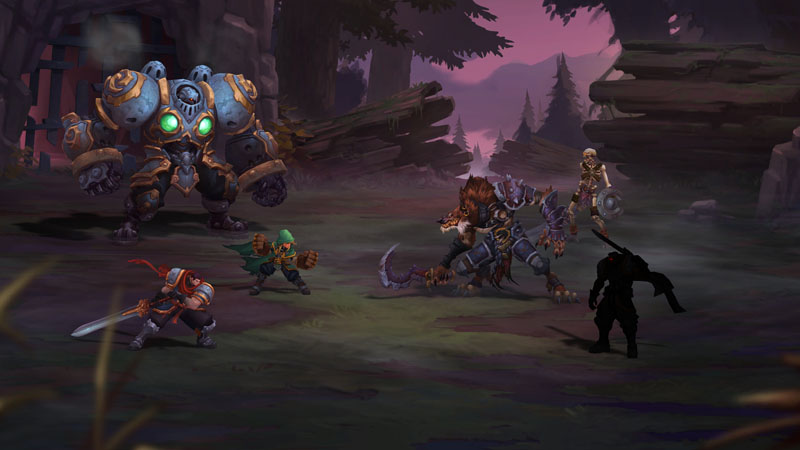 Battle Chasers Night War - Screenshot 5