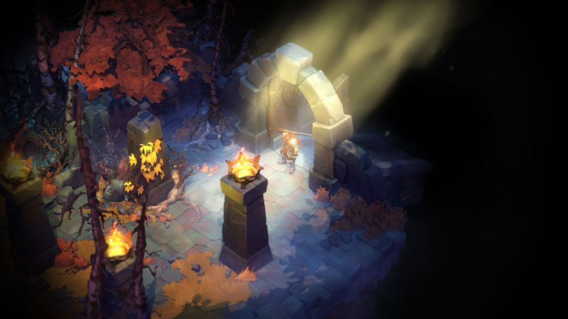 Battle Chasers Night War - Screenshot 1