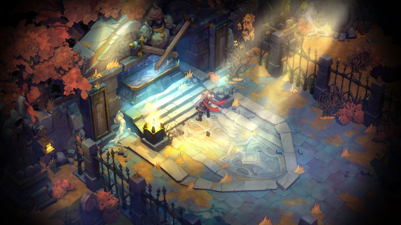 Battle Chasers Night War - Screenshot 4