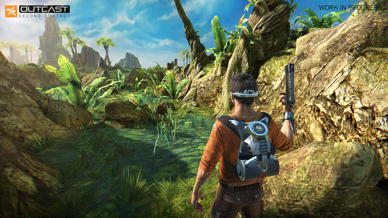 Outcast Second Contact - Screenshot 6