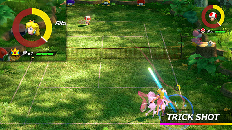 Mario Tennis Aces - Screenshot 1