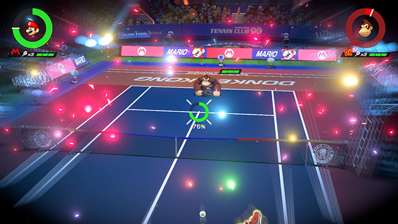 Mario Tennis Aces - Screenshot 4