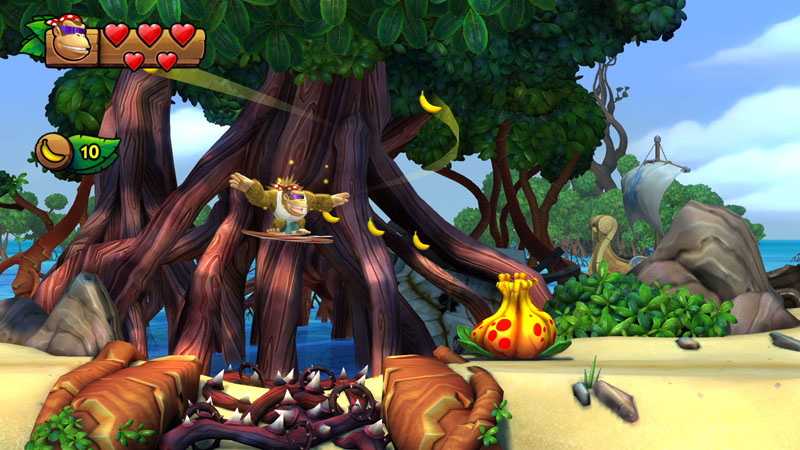 Donkey Kong Tropical Freeze - Screenshot 2