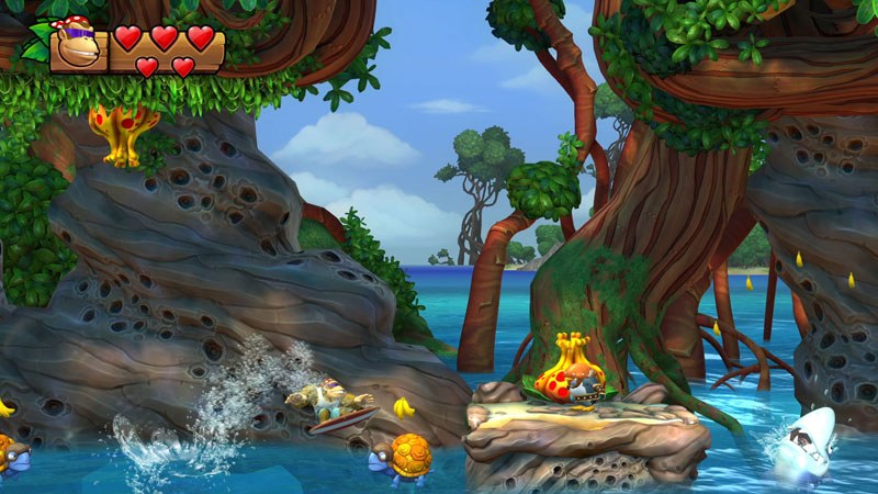 Donkey Kong Tropical Freeze - Screenshot 6