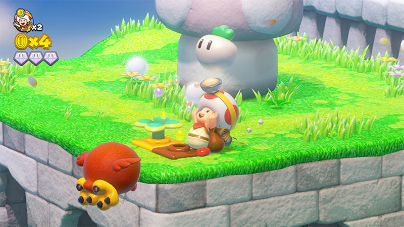 Captain Toad: Treasure Tracker - Screenshot 2