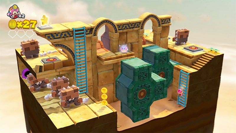 Captain Toad: Treasure Tracker - Screenshot 7
