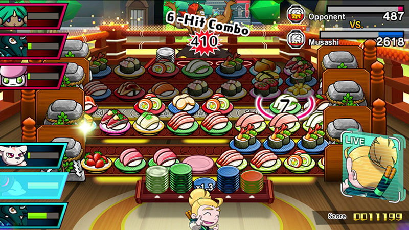 Sushi Striker: The Way of Sushido - Screenshot 4