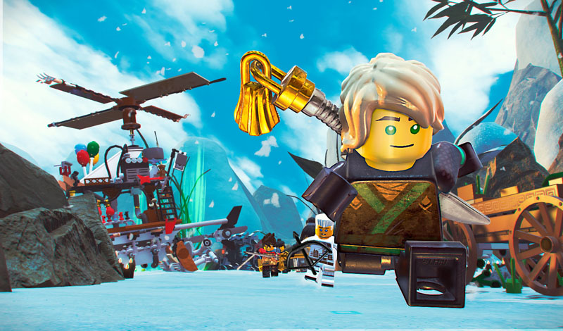 LEGO NINJAGO Movie Video Game - Screenshot 2