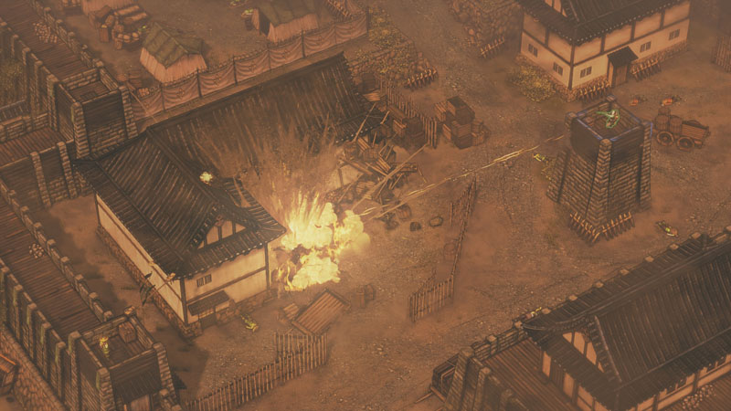 Shadow Tactics: Blades of the Shogun - Screenshot 5