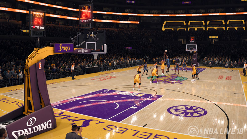 NBA Live 18 - Screenshot 1