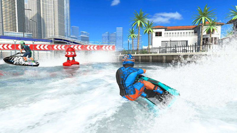 Aqua Moto Racing Utopia - Screenshot 4