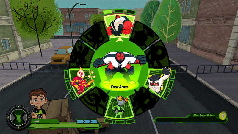 Ben 10 - Screenshot 2