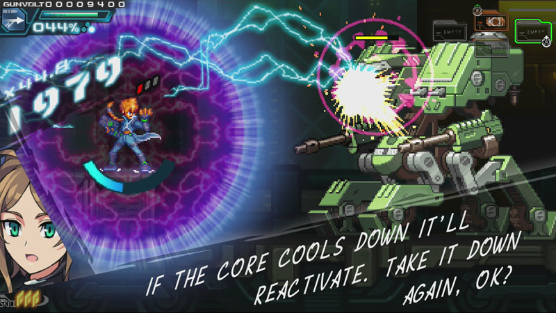 Azure Striker Gunvolt: Striker Pack - Screenshot 4