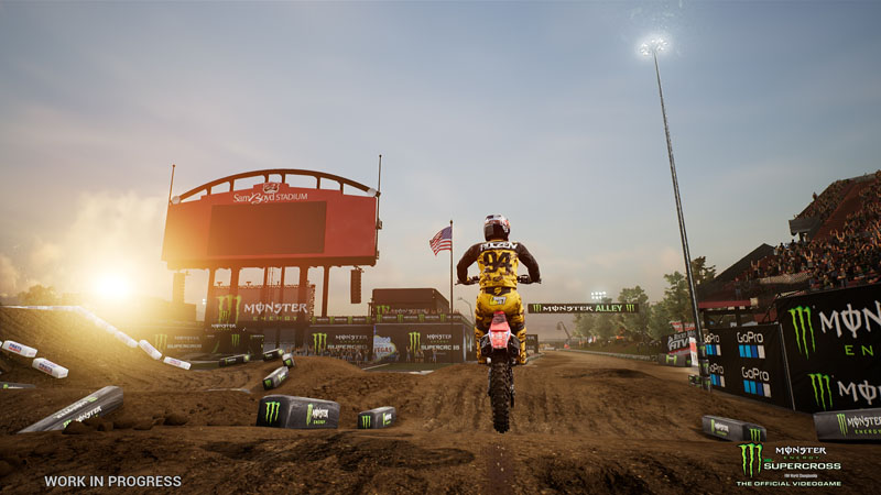 Monster Energy Supercross - The Official Videogame - Screenshot 1