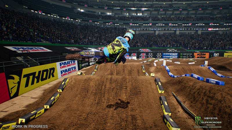 Monster Energy Supercross - The Official Videogame - Screenshot 3