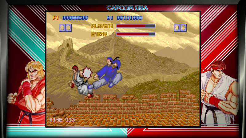 Street Fighter 30th Anniversary Collection - Screenshot 1