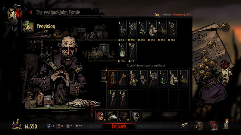 Darkest Dungeon: Ancestral Edition - Screenshot 4