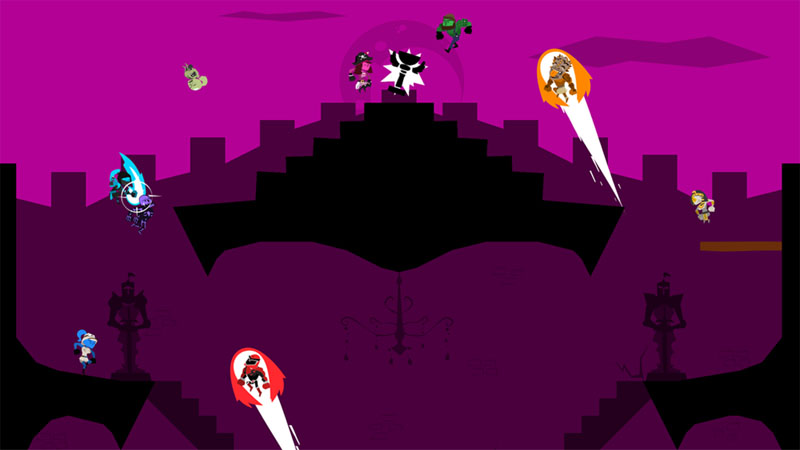 Runbow Deluxe Edition - Screenshot 1