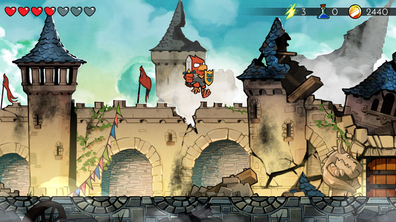 Wonder Boy: The Dragon's Trap - Screenshot 1