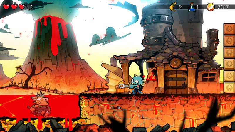 Wonder Boy: The Dragon's Trap - Screenshot 4