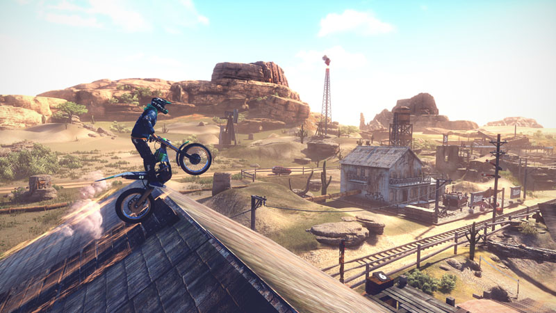 Trials Rising Gold Edition - Screenshot 1