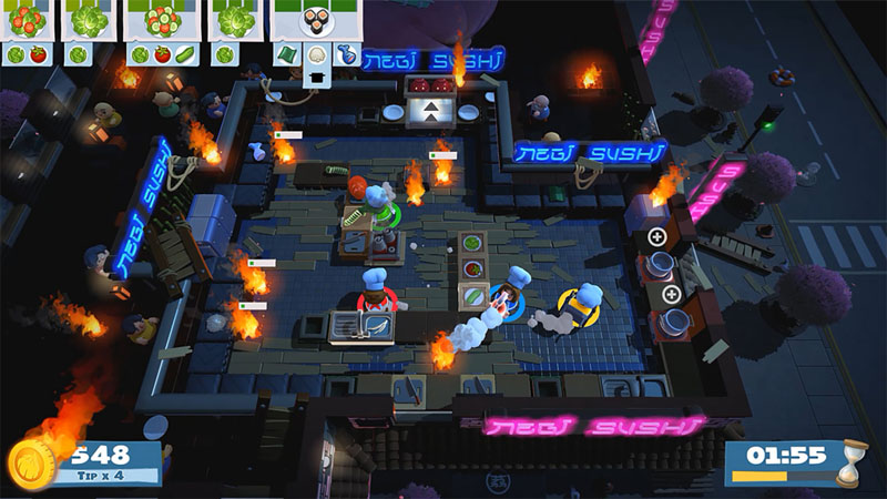Overcooked 2 - Screenshot 3
