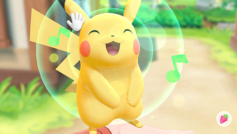 Pokemon Let's Go! Pikachu with Pokeball Plus - Screenshot 1