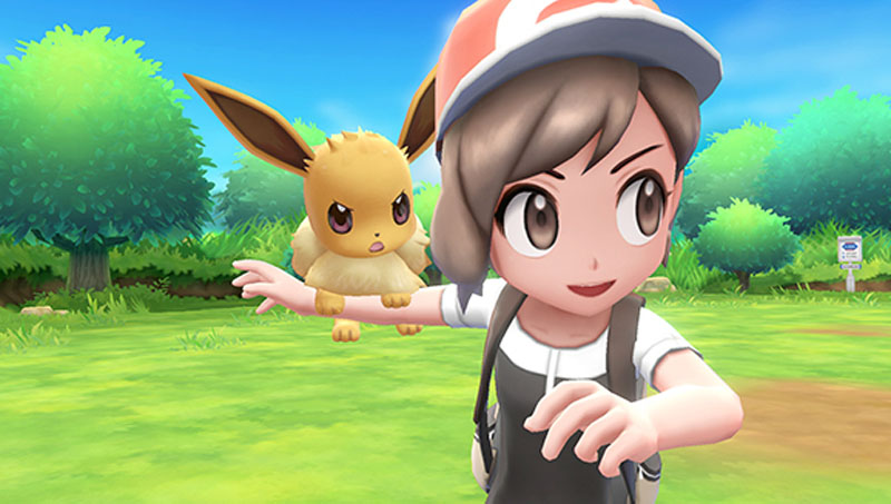 Pokemon Let's Go! Pikachu with Pokeball Plus - Screenshot 2