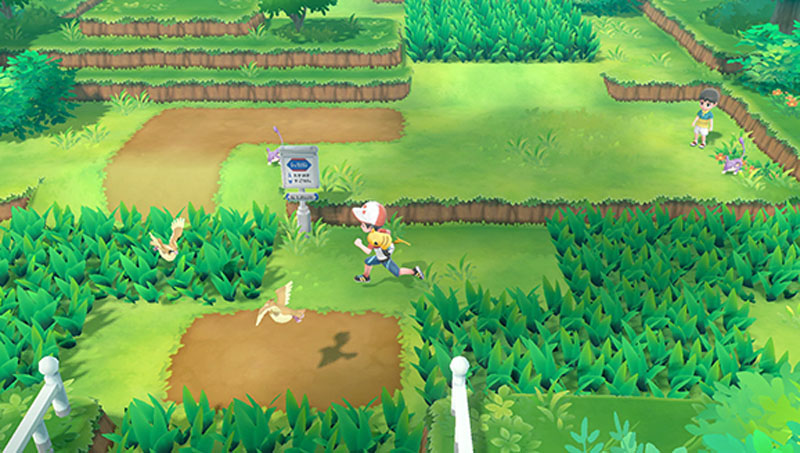 Pokemon Let's Go! Eevee - Screenshot 6